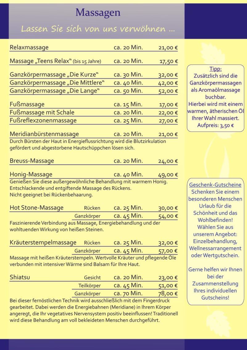 Wellness Hotel Massage